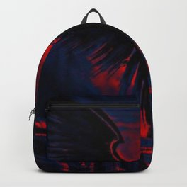 Angelic Guardian Red Blue Backpack