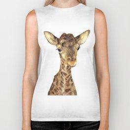 Giraffe#2 Biker Tank