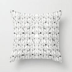 Flaw Throw Pillow