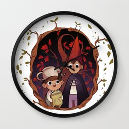 Over the garden wall Wall Clock
