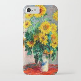 Bouquet of Sunflowers iPhone Case