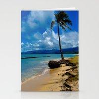 hawaiian Stationery Cards featuring Hawaiian Dreams by Upperleft Studios