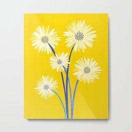 Because I Love You / Whimsical Botanical Series Metal Print