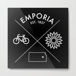Emporia Icons Metal Print