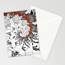 Earth Form Spiral Stationery Cards