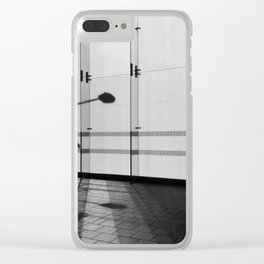 Mirage Of A Lamp Post Clear iPhone Case