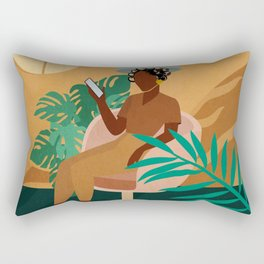 Salon No. 3 Rectangular Pillow