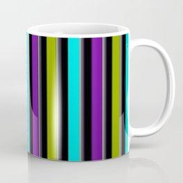 VERTICAL Retro Candy Stripe Coffee Mug
