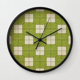 The floor of Western restaurants  Wall Clock