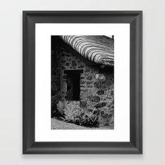Fern Cottage Framed Art Print