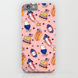 Kawaii USA iPhone Case