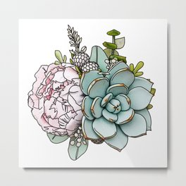 Succs being this gorgeous Metal Print