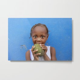 Time for a Snack Metal Print