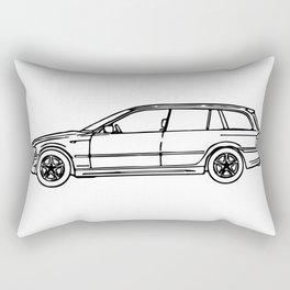 2004 325i German Wagon Rectangular Pillow