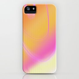 loud vibrantness iPhone Case