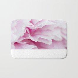 Pink Flower Petals Bath Mat