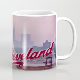 Homesick - Cleveland Skyline Coffee Mug