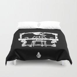 Piano ray Duvet Cover