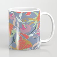 oriental Mugs featuring Oriental  by Laura Sturdy