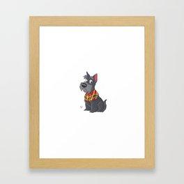 Jock - Lady And The Tramp Framed Art Print