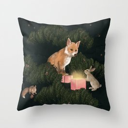 the peace offering Throw Pillow