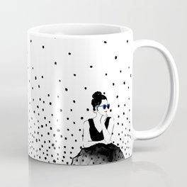 Polka Rain III Coffee Mug