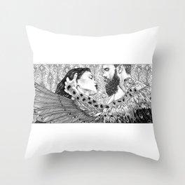 asc 794 - Les brûlants (Burning in devotion) Throw Pillow