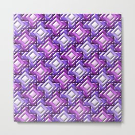 Geometrix XXIV Metal Print