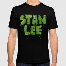 Stan Lee (Hulk) LARGE Mens Fitted Tee Black