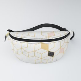 Keziah - Gold & Marble Fanny Pack