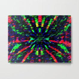 tunnel explosion Metal Print