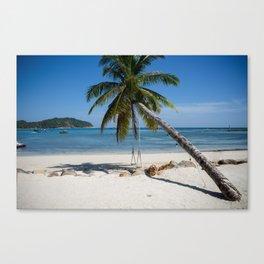 swing into paradise Canvas Print