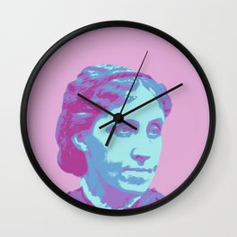 Louisa May Alcott Wall Clock