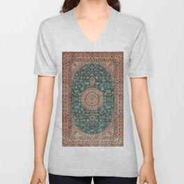 -A29- Epic Heritage Traditional Islamic Artwork. Unisex V-Neck
