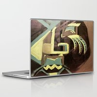 biggie smalls Laptop & iPad Skins featuring BIGGIE by ART by NATALIE MILLER