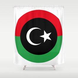 Libyan Air Force Shower Curtain