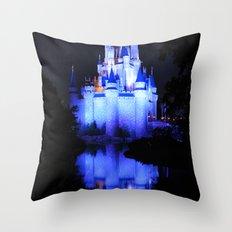 Cinderella's Castle III Throw Pillow