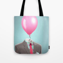 Balloon Head Tote Bag