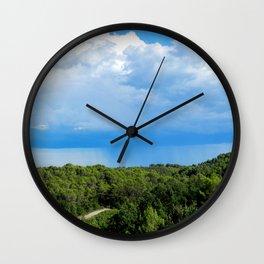 Rideaux ! Wall Clock
