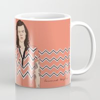 coconutwishes Mugs featuring Harry Chevron  by Coconut Wishes