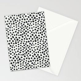Black and White Animal Spots Stationery Cards