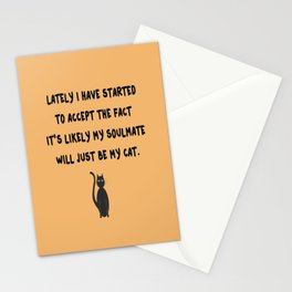 Cat Soulmate Stationery Cards