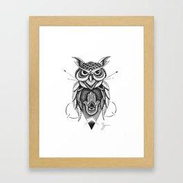 Dotowl Framed Art Print