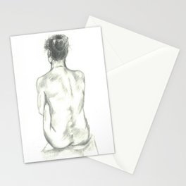 Seated Woman 3 Stationery Cards
