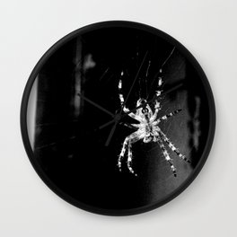 Spider in Amsterdam Wall Clock