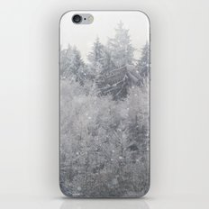Snowing Trees iPhone & iPod Skin