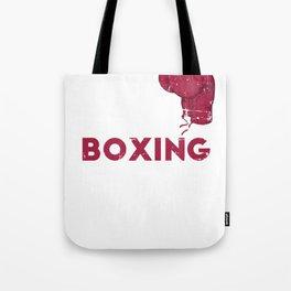 Eat Sleep Boxing Repeat Martial Arts Quote Tote Bag