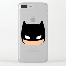 The DarkKnight Look Clear iPhone Case