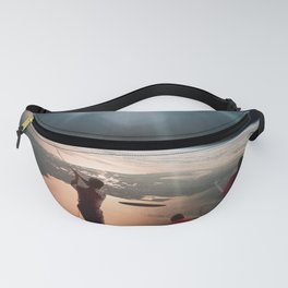 Golfers In Space Fanny Pack
