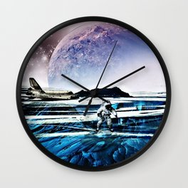 Translucent Planet by GEN Z Wall Clock